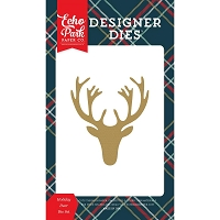 Echo Park - Designer Dies - Deck The Halls Holiday Deer Die