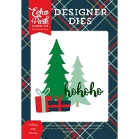 Echo Park - Designer Dies - Deck The Halls Holiday Gifts Die set