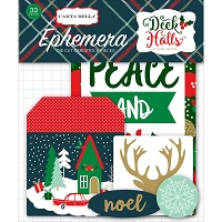 Echo Park - Deck The Halls Collection - Die Cut Ephemera