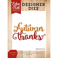 Echo Park - Designer Dies - Fall Is In The Air - Autumn Thanks