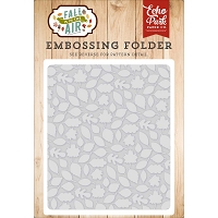 Echo Park - Embossing Folder - Fall Is In The Air - Leaves