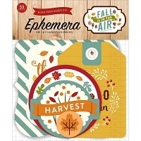 Echo Park - Fall Is In The Air Collection - Die Cut Ephemera