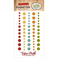 Echo Park - Fall Is In The Air Collection - Enamel Dots