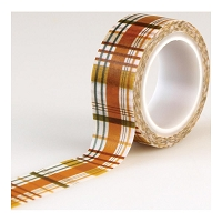 Echo Park - Fall Is In The Air Collection - Decorative Tape - Fall Plaid