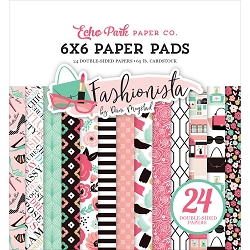 Echo Park - Fashionista Collection - 6x6 Paper Pad