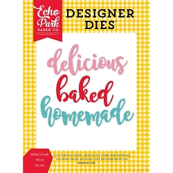 Echo Park - Designer Dies - Happiness is Homemade die set