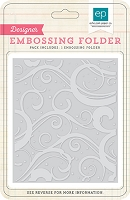 Echo Park - Designer Embossing Folders - Winter Chill