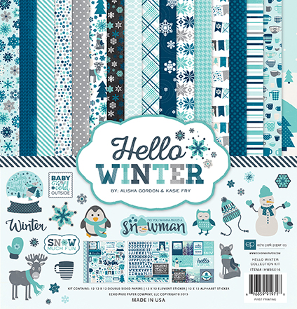 Echo Park - Hello Winter Collection