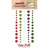 Echo Park - I Love Christmas Collection - Enamel Dots