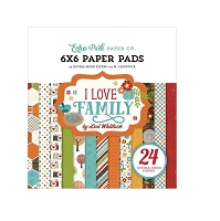 Echo Park - I Love Family Collection - 6x6 Paper Pad