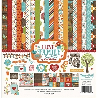 Echo Park - I Love Family Collection - Collection Kit