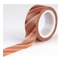 Echo Park - I Love Family Collection - Decorative Tape - Diagonal Stripe
