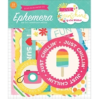 Echo Park - I Love Sunshine Collection - Ephemera Pack