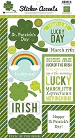 Echo Park - Mini Themes - St. Patrick's Day - Sticker Accents