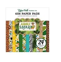 Echo Park - Jungle Safari Collection - 6x6 Paper Pad