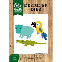 Echo Park - Designer Dies - Jungle Safari Animals Set 2