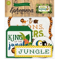 Echo Park - Jungle Safari Collection - Die Cut Ephemera