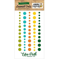 Echo Park - Jungle Safari Collection - Enamel Dots