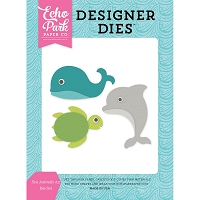 Echo Park - Designer Dies - Let's Be Mermaids - Sea Animals #3