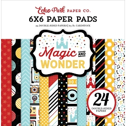 Echo Park - Magic and Wonder Collection - 6x6 Paper Pad