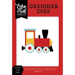Echo Park - Designer Dies - Magic and Wonder Choo Choo Train Die