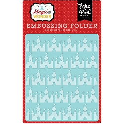 Echo Park - Embossing Folder - Magic and Wonder - Magical Castles