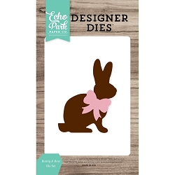 Echo Park - Designer Dies - Bunny and Bow