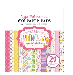 Echo Park - Perfect Princess Collection - 6x6 Paper Pad