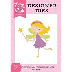 Echo Park - Designer Dies - Perfect Princess Fairy Die