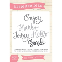 Echo Park - Designer Dies - Sentiments Words