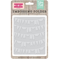 Echo Park - Designer Embossing Folders - Curved Pennants