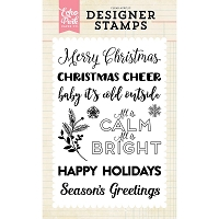 Echo Park - Designer Clear Stamps - Calm & Bright