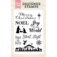 Echo Park - Designer Clear Stamps - Silent Night