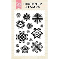 Echo Park - Designer Clear Stamps - Snow Is Falling