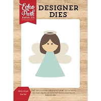 Echo Park - Designer Dies - I Love Christmas Holy Angel Die