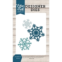Echo Park - Designer Dies - I Love Winter Snowflakes #7 Die Set