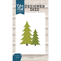 Echo Park - Designer Dies - I Love Winter Winter Pines Die Set