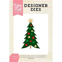 Echo Park - Designer Dies - Decorated Tree die set