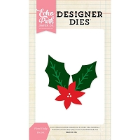 Echo Park - Designer Dies - Floral Holly