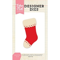 Echo Park - Designer Dies - Scallop Stocking Die