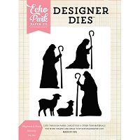 Echo Park - Designer Dies - Sheep & Shepherd Nativity