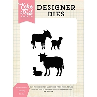 Echo Park - Designer Dies - Stable Animals Nativity Die Set