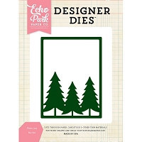 Echo Park - Designer Dies - Pines Background die