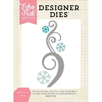 Echo Park - Designer Dies - Winter Flurries Die Set