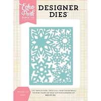 Echo Park - Designer Dies - Snowflake Background Die