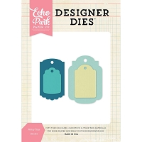 Echo Park - Designer Dies - Fancy Tags Die Set