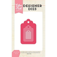 Echo Park - Designer Dies - Rounded Tags Die Set