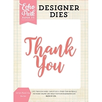 Echo Park - Designer Dies - Script Thank You Die Set