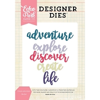 Echo Park - Designer Dies - Create Adventure Word Diet Set