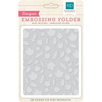 Echo Park - Designer Embossing Folders - Falling Leaves